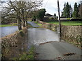 SJ4317 : Whoops! Don't think I'll risk that - River Perry in flood (Jan' 2008) by Row17