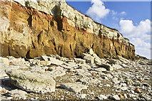 TF6741 : Hunstanton Cliffs by dennis smith
