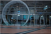 TQ3980 : Entrance to the O2 Arena by Philip Halling