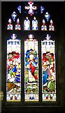 ST6834 : Stained glass window, St Mary's Church, Bruton by Maigheach-gheal