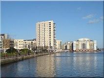 ST1974 : New housing development, Cardiff Bay by Hywel Williams