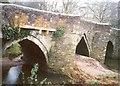 SX0671 : Helland Bridge by Humphrey Bolton