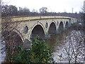 NT8440 : Bridge over River Tweed at Coldstream by James Denham