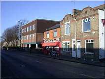 TL4658 : Newmarket Road Post Office by Keith Edkins