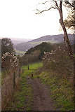 TQ2252 : Path above Lady Hill by Ian Capper