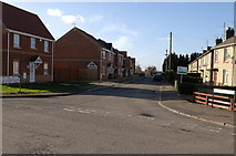 TL4097 : Entrance of Peas Hill Road, junction with Elliott Road by dennis smith