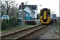 SH6036 : Train leaving Talsarnau station by Anonymous