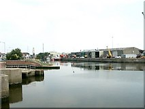 TF3242 : Panorama of Riverside Quay, Boston - 2 of 2 by Dave Hitchborne