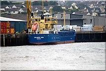 J1417 : Atlantic Sea Warrenpoint Harbour by Wilson Adams