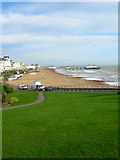 TV6198 : Eastbourne Beach by Simon Carey