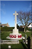 TF0349 : War Memorial by Richard Croft