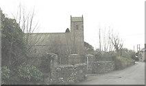 SH3537 : Holy Cross Church (CinW), Llannor by Eric Jones