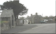 SH3537 : The road junction at the centre of Llannor by Eric Jones