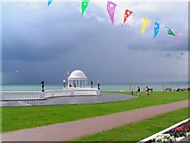 TQ7407 : Before the Storm at Bexhill seafront by Wesley Trevor Johnston