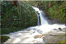 J3996 : Glenoe waterfall (28) by Albert Bridge
