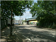 TQ2282 : Scrubs Lane, NW10 - A219 by Phillip Perry