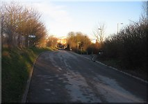 SU6252 : Cycle path towards town by Given Up