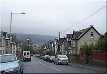 SO0103 : Long streets of Abernant, near Aberdare by Darren W Rees