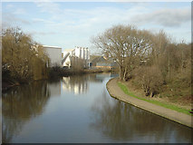 SK5537 : Beeston Canal at Dunkirk by Alan Murray-Rust