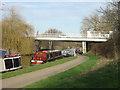 SK5536 : Thane Road Bridge by Alan Murray-Rust