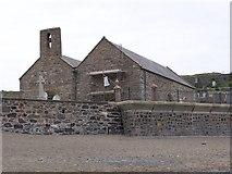 SH1726 : St Hywyn Church, Aberdaron by Darren W Rees