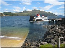 NM4962 : Kilchoan to Tobermory Ferry by -