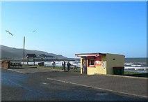 NX1896 : The Cauld Shore Car Park by Mary and Angus Hogg