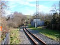 SN6180 : Glanyrafon Station, Vale of Rheidol Railway by John Lucas