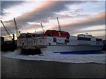 J3576 : 'Stena Explorer' arrives in Belfast by Rossographer