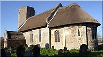 TM3898 : St. Gregory's Church, Heckingham by Bill Sibley