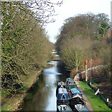 SO8999 : Staffordshire and Worcestershire Canal, Newbridge, Wolverhampton by Roger  Kidd