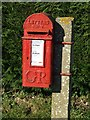 TF8017 : Red postbox by Keith Evans