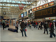 TQ3179 : Waterloo Station Concourse by Stacey Harris