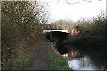 SU7451 : Odiham Bypass bridge, Basingstoke Canal by Dr Neil Clifton