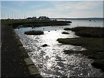 SZ1891 : Mudeford: far end of harbour by Chris Downer