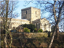 TA1181 : Filey, St.Oswald's Church by Dave Pickersgill