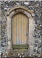 TF8014 : St George's Church, South Acre, Norfolk - Doorway by John Salmon