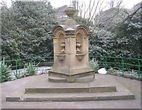 SE0824 : Drinking Fountain - People's Park by Betty Longbottom