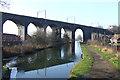 SJ9100 : Viaduct across Canal, Wolverhampton by Roger  Kidd