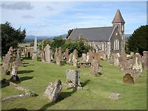 NX4355 : Wigtown Church & Churchyard by Chris Newman