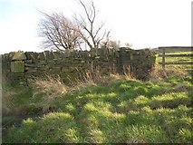 SE1220 : Wall, Pinfold Lane, Fixby by Humphrey Bolton