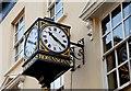 J3373 : Robinson's clock, Belfast by Albert Bridge