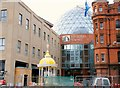J3474 : Belfast's new dome (7) by Albert Bridge