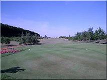 SU6154 : Weybrook Park Golf  Club - Basingstoke - 1st Tee by Alan Swain