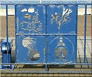 NZ3181 : Decorative Fence by Christine Westerback