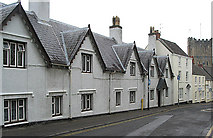 ST5393 : Montague Almshouses, Upper Church Street, Chepstow by Pauline E
