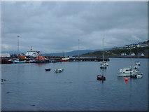 NM6797 : Mallaig Harbour by Lynn M Reid