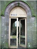 NS0567 : Abandoned Church - main door by Nicholas Mutton
