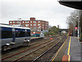 J5081 : Train departing, Bangor station by Rossographer