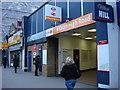 "TQ2583 : Kilburn High Road Station with new ""London Overground"" Branding by Oxyman"